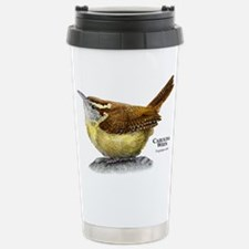 Carolina Wren Stainless Steel Travel Mug