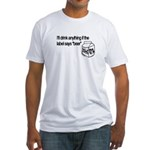 Ultimate Beer Drinking Fitted T-Shirt