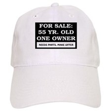 For Sale 55 Year Old Birthday Baseball Cap