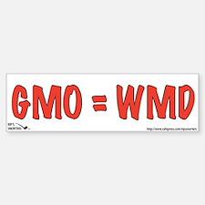 GMO=WMD Car Car Sticker