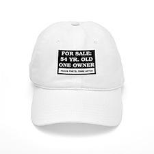 For Sale 54 Year Old Birthday Baseball Cap