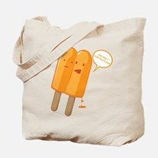 Popsicle Breakup Tote Bag