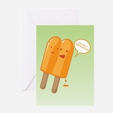 Popsicle Breakup Greeting Card