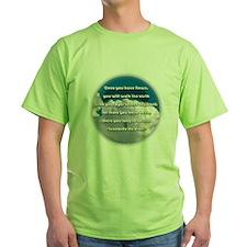 Leonardo Quote T-Shirt