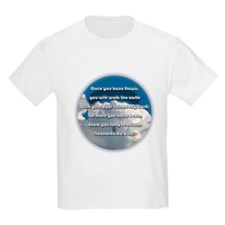 Leonardo Quote Kids T-Shirt
