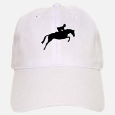 h/j horse & rider Baseball Baseball Cap