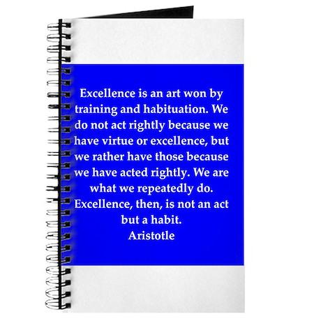 Wisdom of Aristotle Journal