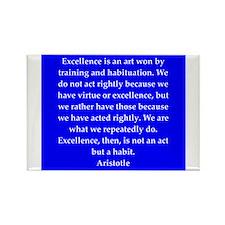 Wisdom of Aristotle Rectangle Magnet