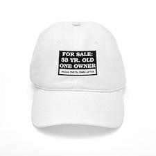 For Sale 53 Year Old Birthday Baseball Cap
