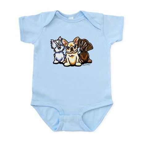 Frenchie Flatulence Infant Bodysuit