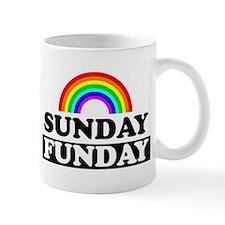 sundayfundayrainbow Mugs