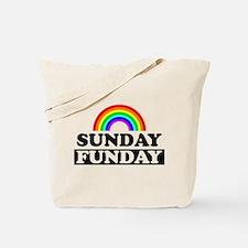 Cute Sunday funday Tote Bag