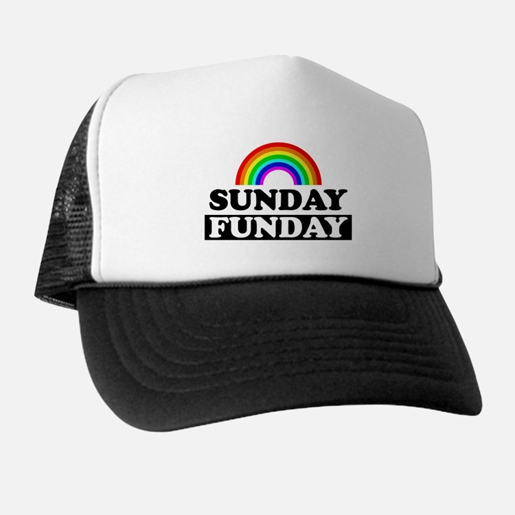 Cute Sunday funday Trucker Hat