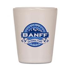 Banff Natl Park Cobalt Shot Glass