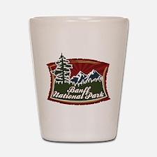 Banff Mountains Shot Glass
