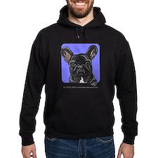 Black French Bulldog Lover Hoodie