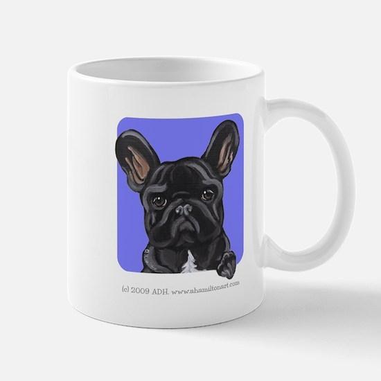 Black French Bulldog Lover Mug