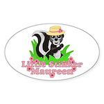 Little Stinker Maureen Sticker (Oval)