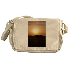Sunset Pony Messenger Bag