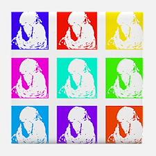 Multi Quakers Tile Coaster