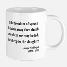 Cute First amendment 20 oz Ceramic Mega Mug