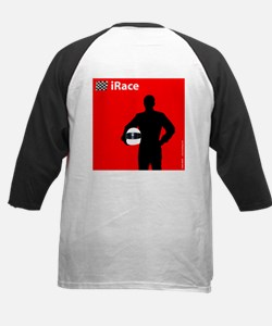 iRace Race Car Driver 2 Sided Tee