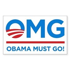 Obama Must Go Decal
