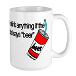 Beer Humor Large Mug