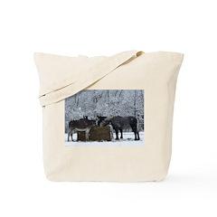 Long Winter Tote Bag