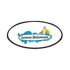 Lewes Beach DE - Surf Design Patches