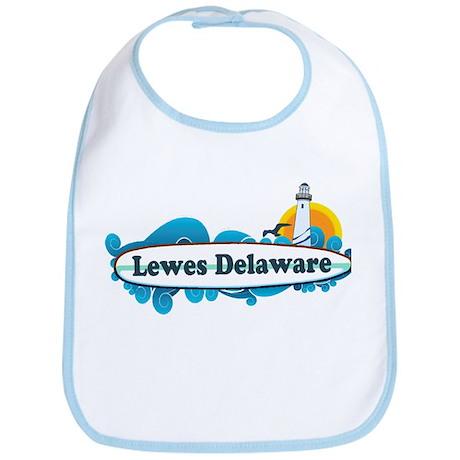 Lewes Beach DE - Surf Design Bib