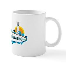Lewes Beach DE - Surf Design Mug