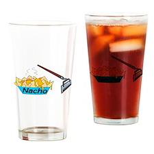 Nacho Hoe Drinking Glass