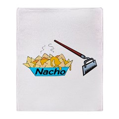 Nacho Hoe Throw Blanket