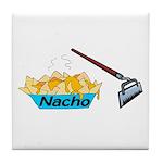 Nacho Hoe Tile Coaster