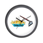 Nacho Hoe Wall Clock