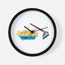Nacho Hoe Wall Clock