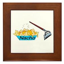 Nacho Hoe Framed Tile