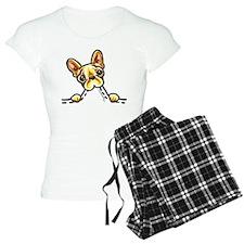 Frenchie Eating Pocket Pajamas