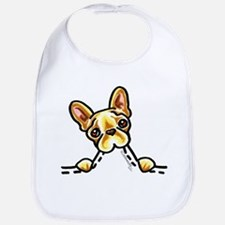 Frenchie Eating Pocket Bib