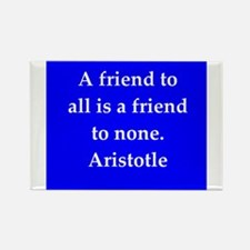 Wisdom of Aristotle Rectangle Magnet