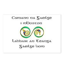 Cumann na Gaeilge i mBoston Postcards (Package of