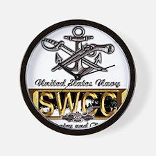 USN Navy SWCC Boat Operator Wall Clock