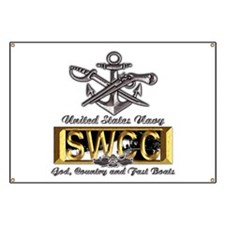 USN Navy SWCC Boat Operator Banner