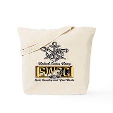 USN Navy SWCC Boat Operator Tote Bag