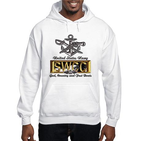 USN Navy SWCC Boat Operator Hooded Sweatshirt