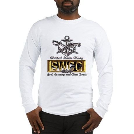 USN Navy SWCC Boat Operator Long Sleeve T-Shirt