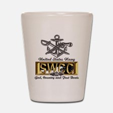 USN Navy SWCC Boat Operator Shot Glass