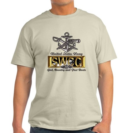 USN Navy SWCC Boat Operator Light T-Shirt
