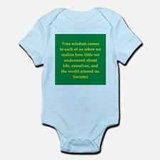 Wisdom of Socrates Infant Bodysuit